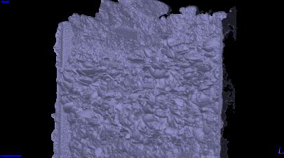 右斜め方向(メッシュ)/ Right diagonal (mesh)