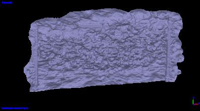 低解像度版メッシュモデル/ Low resolution mesh model